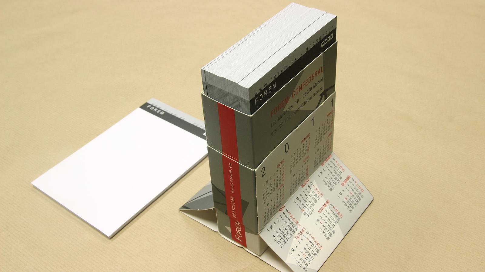 Calendario Totem 2
